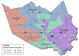 harris county parks map