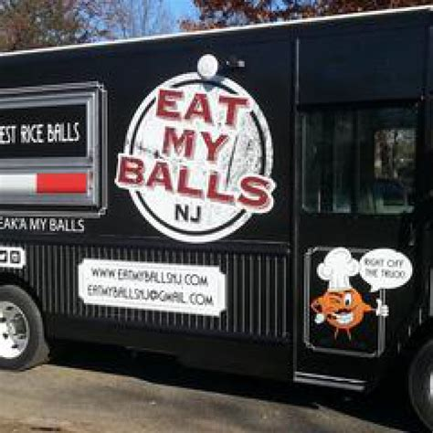 my eats my eat my balls food truck jersey city food trucks roaming hunger