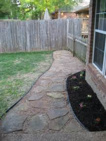 backyard walkway designs how to set up a flagstone patio design