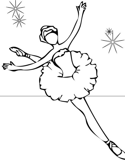coloring pages of ballerina free printable ballet coloring pages for kids
