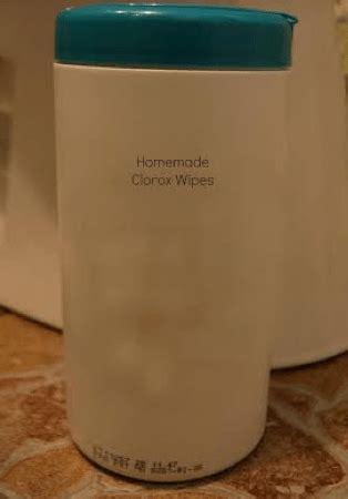 homemade antibacterial wipes