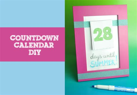 make your own countdown calendar make your own countdown calendar and notepad club chica