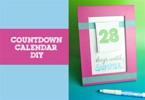 make a countdown calendar make your own countdown calendar and notepad club chica