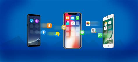 android or iphone how to easily transfer data from android or your iphone to iphone 8 and iphone x with anytrans