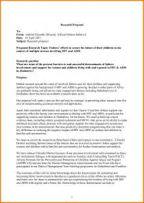 Business Research Proposal Template 7 Research Proposal Example Developer Resume