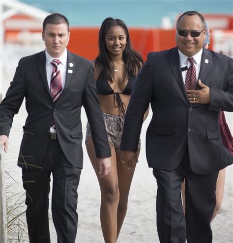 sasha obama boyfriend photos sasha obama s a bikini babe in miami beach