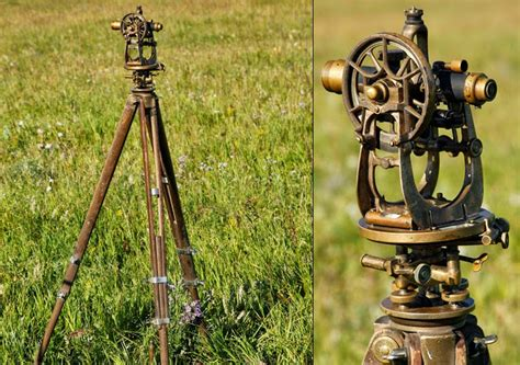Surveyors L by Sextant 153 Theodolites Gyros Nivellers Artillery Topography Surveyors
