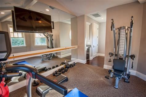 at home gym ideas 58 well equipped home gym design ideas digsdigs