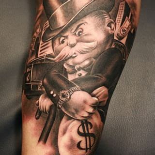 monopoly man tattoo encontrada no em keywordsuggest org tattoos