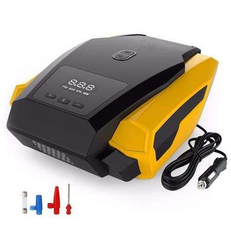 portable tire inflator 12v 150 psi auto digital electric emergency air compressor for