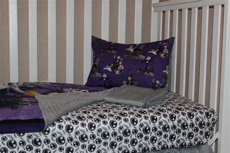 jack skellington bedding jack skellington crib toddler bedding set 183 delta ann s