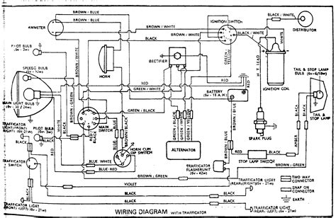 wiring diagram motorcycle wiring diagram symbols