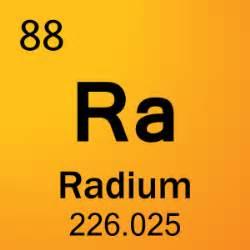 Number Of Protons In Radium Radium Jones Fo