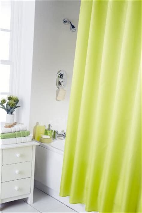 lime shower curtain best lime green shower curtain fabric or plastic shower