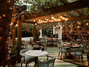 Restaurant Outdoor Lighting Soho House Tropical Patio Miami By Raymond Jungles Inc