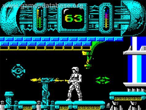 best spectrum games trantor the last stormtrooper sinclair zx spectrum
