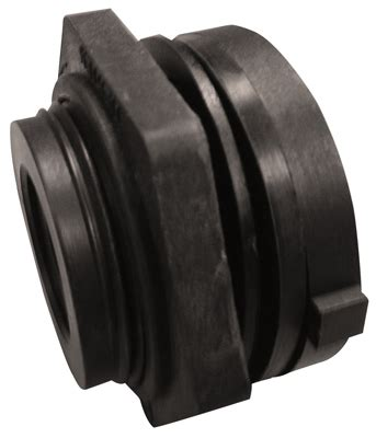 Tight Seal Plumbing by Genova Products 1 Quot Bulkhead Fitting 38810