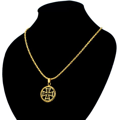 popular german iron cross necklace buy cheap german iron
