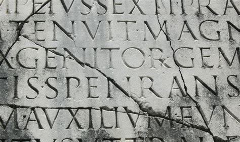 lettere romane lettere romane griffo