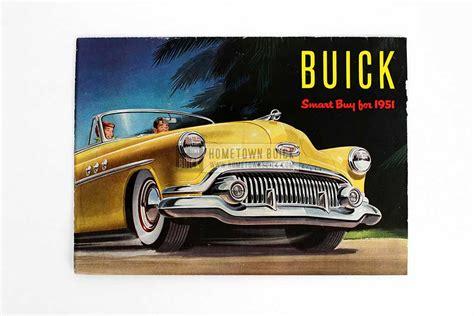 1951 buick sales brochure hometown buick