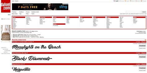 dafont  review    font website