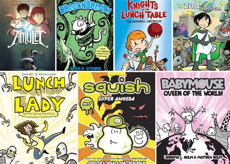 27 best images about graphic novels for kids 7 graphic novels elementary schoolers love brightly