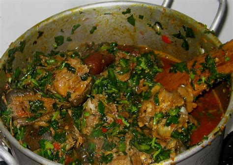 types of vegetable soups edikang ikong soup recipe simple and healthy