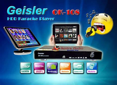 Mesin Karaoke toko alat karaoke mesin karaoke geisler ok 108