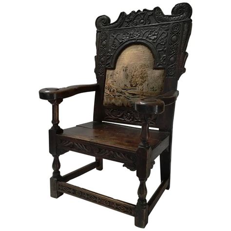 Jacobean Chair by 17th Century Jacobean Arm Chair For Sale At 1stdibs