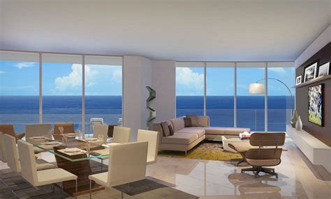 living room ft lauderdale paramount ft lauderdale residences construction prices