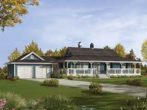 country home with wrap around porch caldean country ranch home plan 062d 0041 house plans