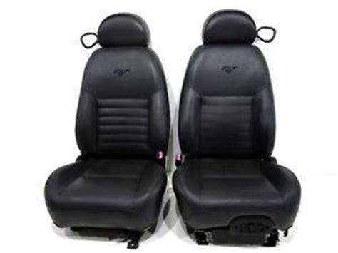 2000 mustang gt leather seat covers replacement ford mustang gt cobra black leather seats 1998