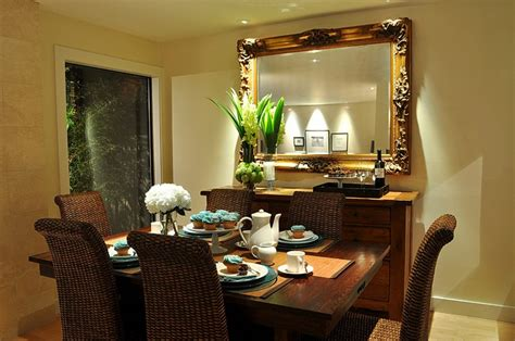 mirror in dining room dining room buffet decorating ideas with round decorative