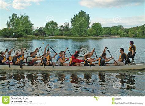 free boats ottawa dragon boat practice ottawa ontario canada editorial photo