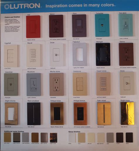 lutron colors lutron archives connecticut lighting centers