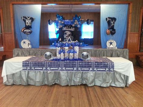 dallas cowboysfootball birthday party ideas photo 4 of