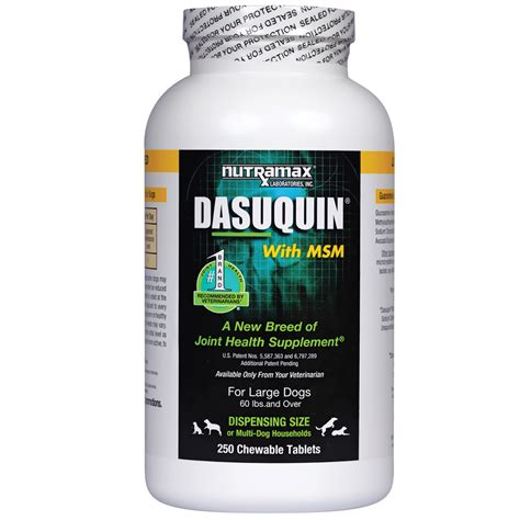 dasuquin with msm for large dogs dasuquin for large dogs 60 lbs with msm 250 chews