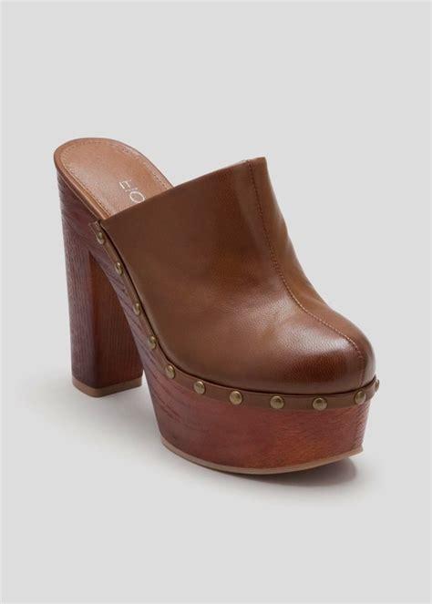 wooden heel clogs for wooden clog heel shopstyle co uk