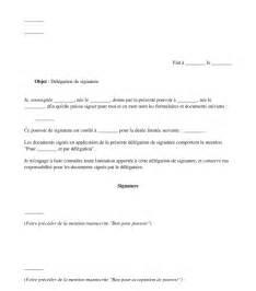 Exemple De Lettre Bon Pour Accord D 233 L 233 Gation De Signature Mod 232 Le En Ligne Word Et Pdf