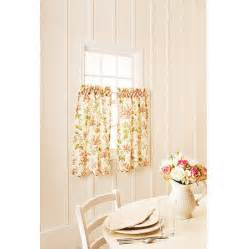 Better Homes And Gardens Kitchen Curtains Better Homes And Gardens Lilac Print Kitchen Tiers Or Valance Walmart