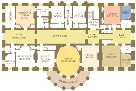 floor plan of white house white house maps npmaps just free maps period