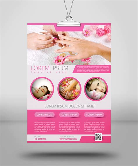 spa beauty flyer template flyer templates on creative