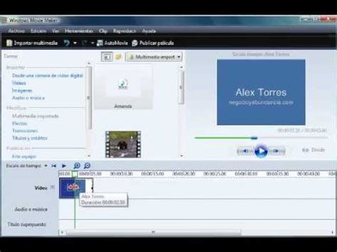 tutorial como editar videos no windows movie maker tutorial windows movie maker c 243 mo editar v 237 deos con