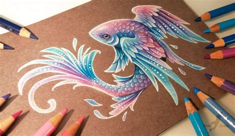 20 Stunning Color Pencil Drawings And Illustrations By Drawing Top Beautiful Color Images