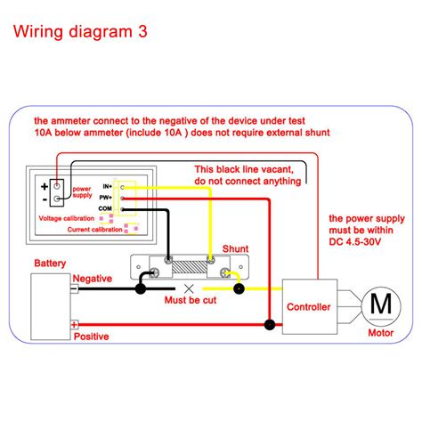 digital dc voltmeter wiring diagram ammeter wiring diagram