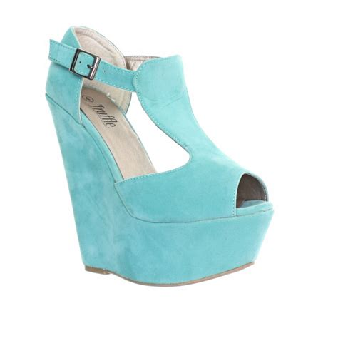 turquoise wedge shoes wedge sandals