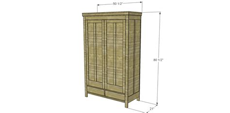 Free Wardrobe Plans by Free Plans To Build A 19th Century American Wardrobe