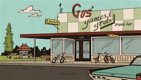 the grub house gus games and grub the loud house encyclopedia fandom