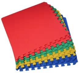 32 sq ft interlocking foam mat tiles play exercise