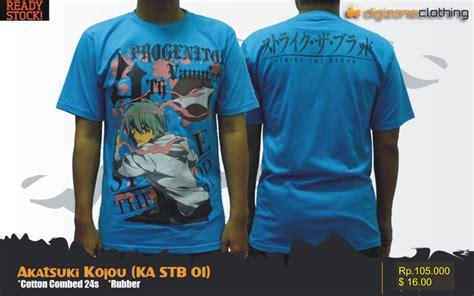 Kaos 07 T Shirt Raglan Anime Z t shirt akatsuki kojou anime kovers